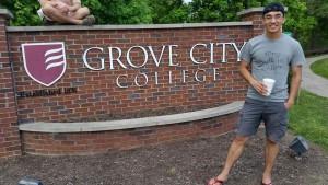 Grove City College enterance