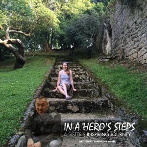 in a hero's steps