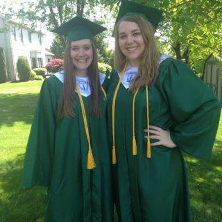 Alex and I graduation day 2014