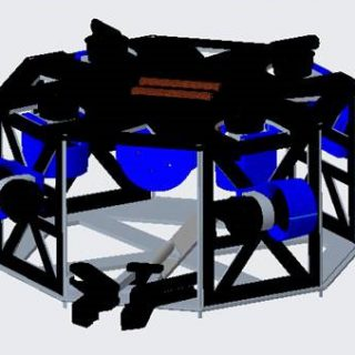 The preliminary design of the robot.