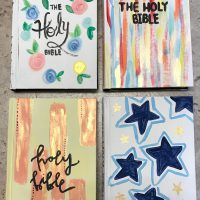 Painted Bibles